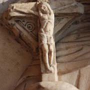 Hand Holding Crucifix In Venice Art Print