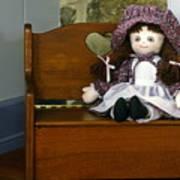 Handmade Cloth Doll Art Print