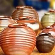 Handmade Pottery Art Print
