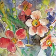 Handpicked Bouquet No. 2 Art Print