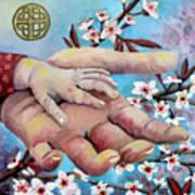 Hands Of Love Art Print