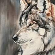 Handsome Wolf Art Print