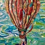Hang In Theair Art Print