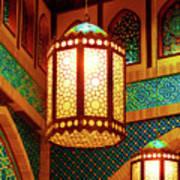 Hanging Lanterns Art Print by Farah Faizal
