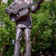 Hank Williams Statue - Montgomery Alabama Art Print