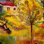 Hannah's Magical Wish Granting Tree Art Print