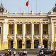 Hanoi Opera House 01 Art Print
