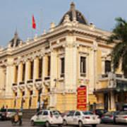 Hanoi Opera House 04  Art Print