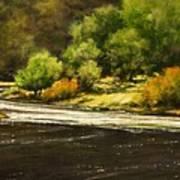 Lewis River Lagoon Art Print
