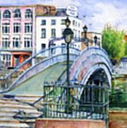 Ha'penny Bridge Dublin Art Print