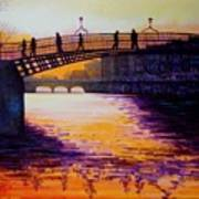 Ha'penny Bridge Dublin Art Print