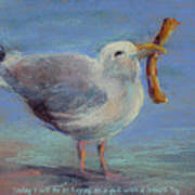 Happiness Is ... Print by Karen Margulis