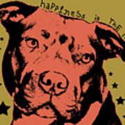 Happiness Is The Pits Art Print by Dean Russo