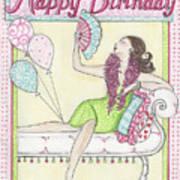 Happy Birthday Art Print