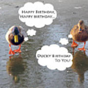 Happy Birthday To You Art Print