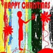 Happy Christmas 14 Art Print