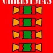 Happy Christmas 14 Art Print