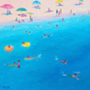 Happy Days At The Seaside Art Print
