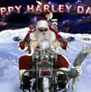 Happy Harley Days Art Print