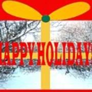 Happy Holidays 21 Art Print