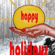 Happy Holidays 26 Art Print
