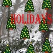 Happy Holidays 29 Art Print
