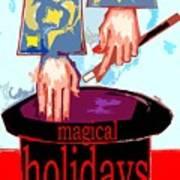 Happy Holidays 41 Art Print