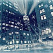 Happy Holidays From New York City Art Print