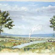 Happy Land Art Print