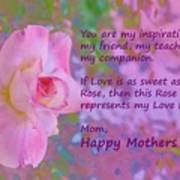 Happy Mothers Day 2 Art Print