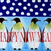 Happy New Year 5 Art Print