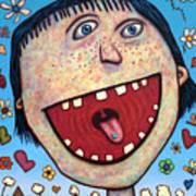 Happy Pill Art Print