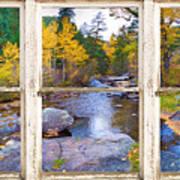 Happy Place Picture Window Frame Photo Fine Art Art Print