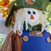 Happy Scarecrow Art Print