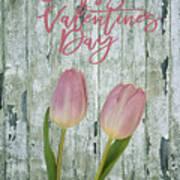 Happy Valentines Day Art Print
