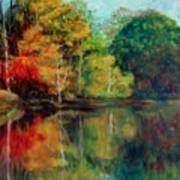 Happy Valley Pond Art Print by Lyn Vic
