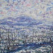 Happy Winter. Art Print