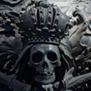 Hapsburg Tombs Vienna Austria Art Print