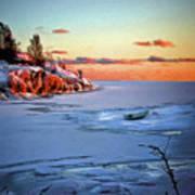 Harakka Island Sunset Art Print