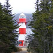 Harbor Breton Lighthouse Art Print