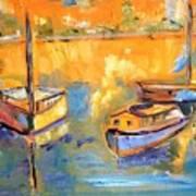 Harbor Day Art Print
