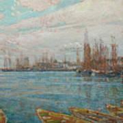 Harbor Of A Thousand Masts Art Print