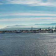 Harbor Panorama  Art Print
