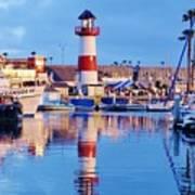 Harbor Reflections Art Print