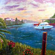 Harbor Print by Stan Hamilton