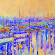 Harbor Sunrise I     Six Am Art Print