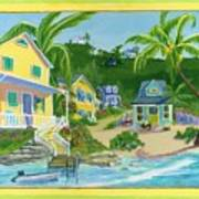 Harbour Houses Art Print