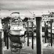 Harbour Scene Art Print