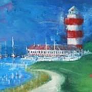 Harbour Town 18 Art Print