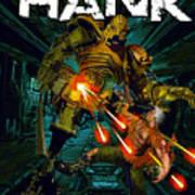 Hard Luck Hank--mort Art Print